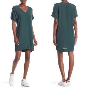 • Madewell • Novel Shift Dress Smoky Spruce Green